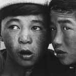 Portret dwóch mongolskich chłopców